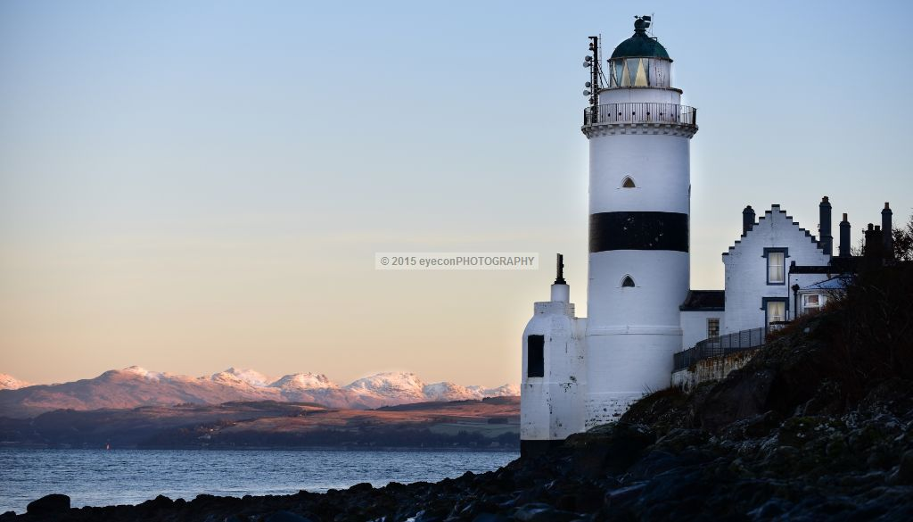 Winter at the Cloch Lighthouse