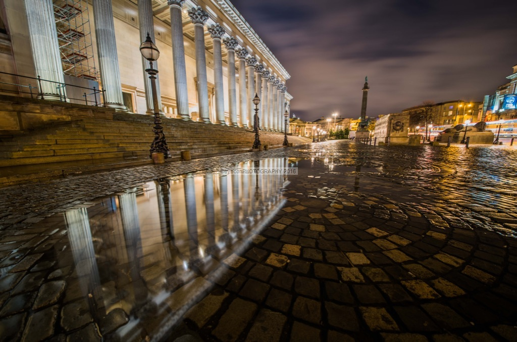 St Georges Hall Reflections