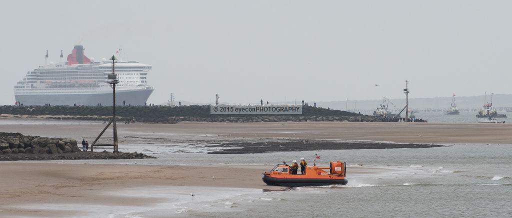 New Brighton Inshore Rescue Hovercraft