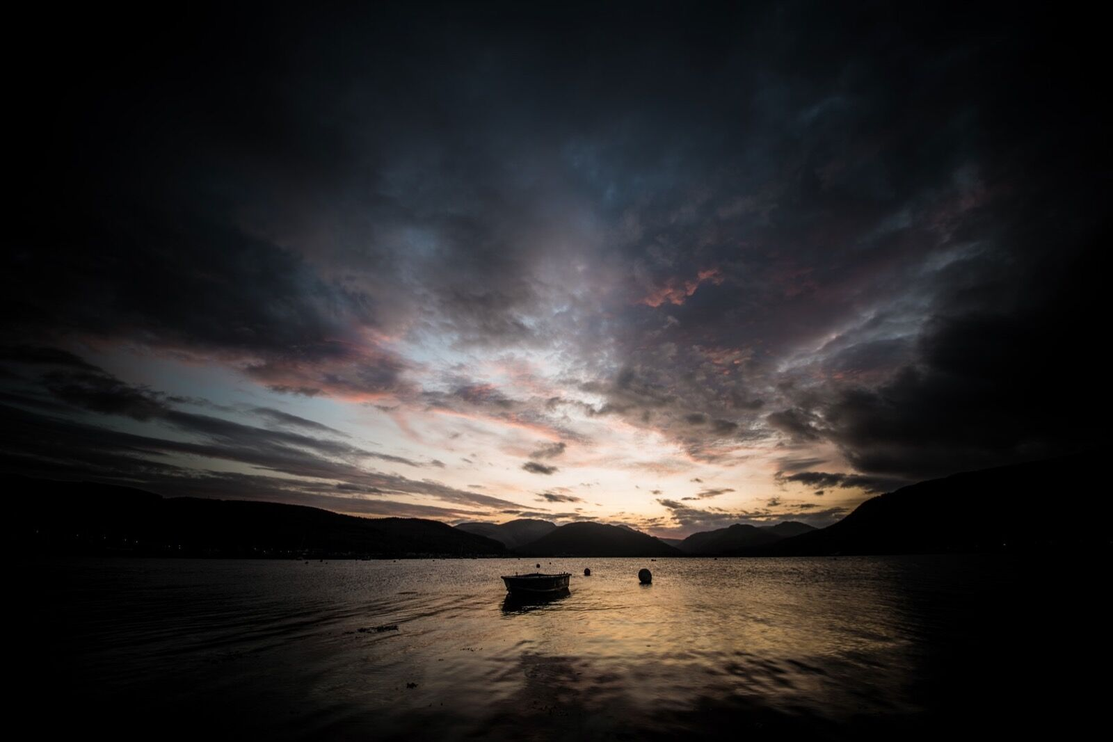 Holy Loch Afterglow