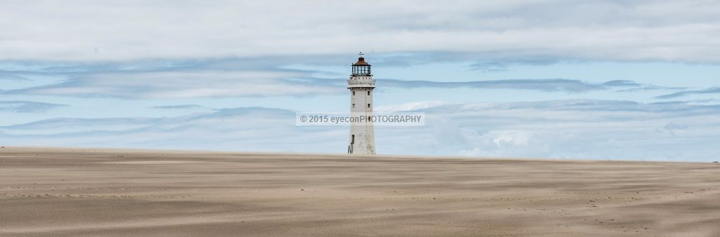 Sandstorm at New Brighton Lighthouse