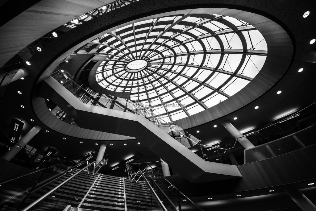 Liverpool Central Library main staircase