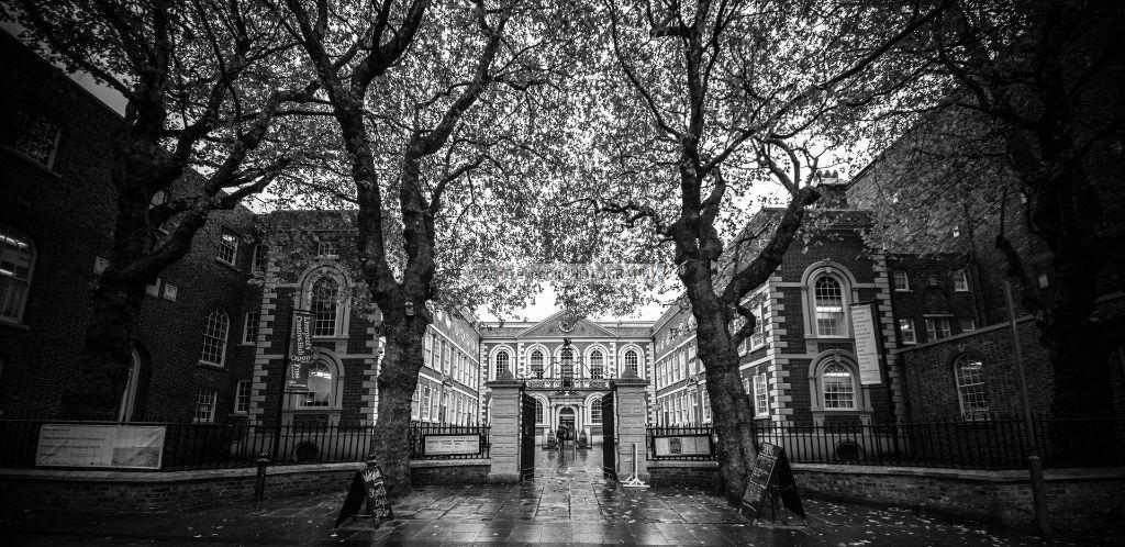Autumns day at the  Bluecoat