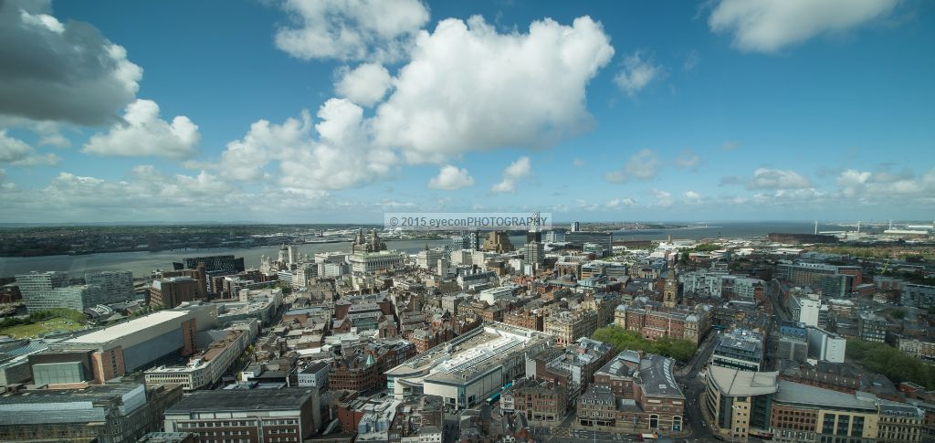 Central Liverpool from White Chapel