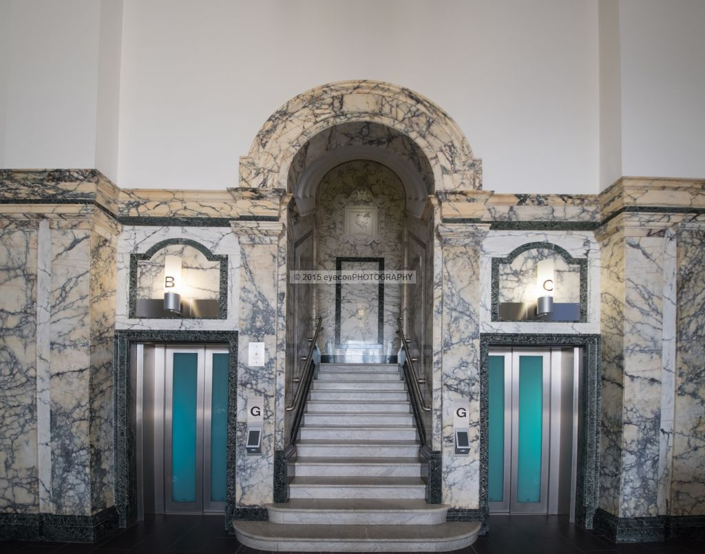 Royal Liver Building Foyer Elevators