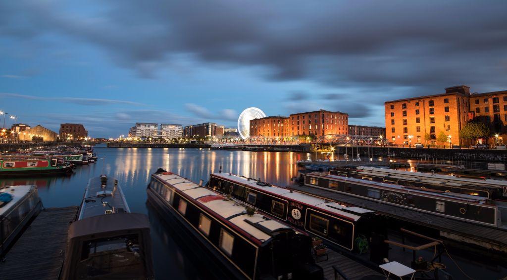 Albert Dock by Night