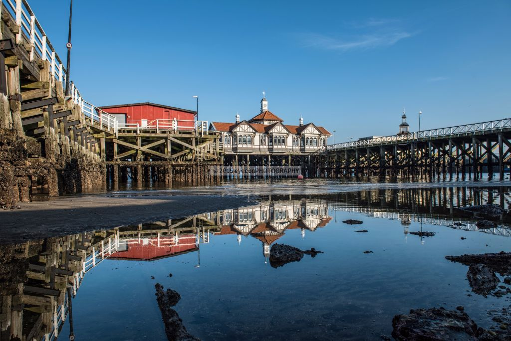 Reflections of Dunoon Pier