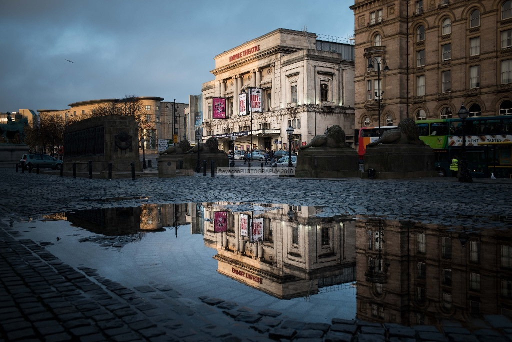 Empire Theatre Liverpool Reflections