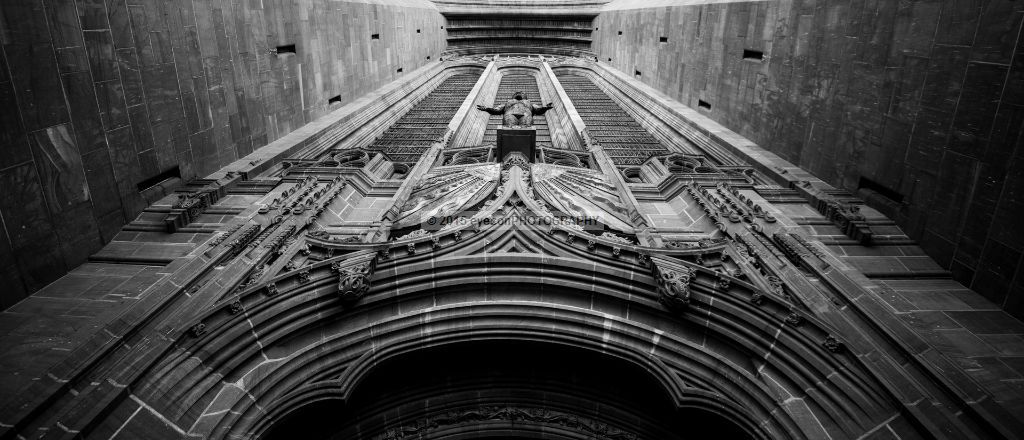 Liverpool Anglican Cathedral Main Entrance Arch