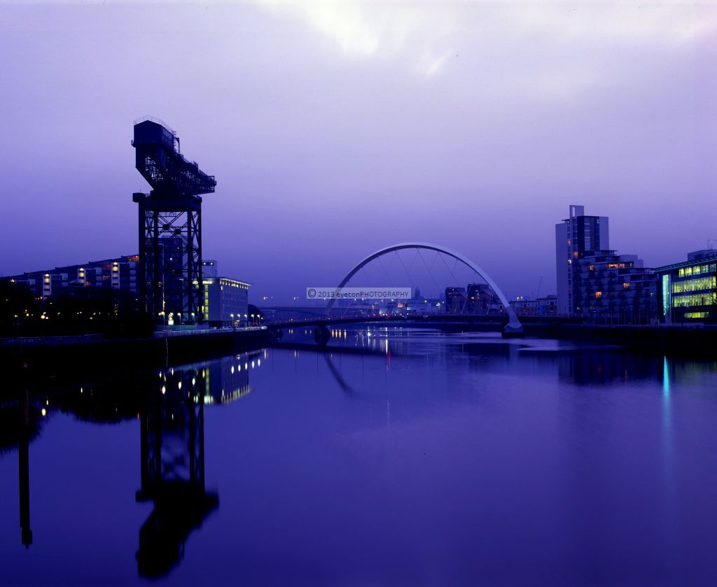 Winter's morning On the Clyde
