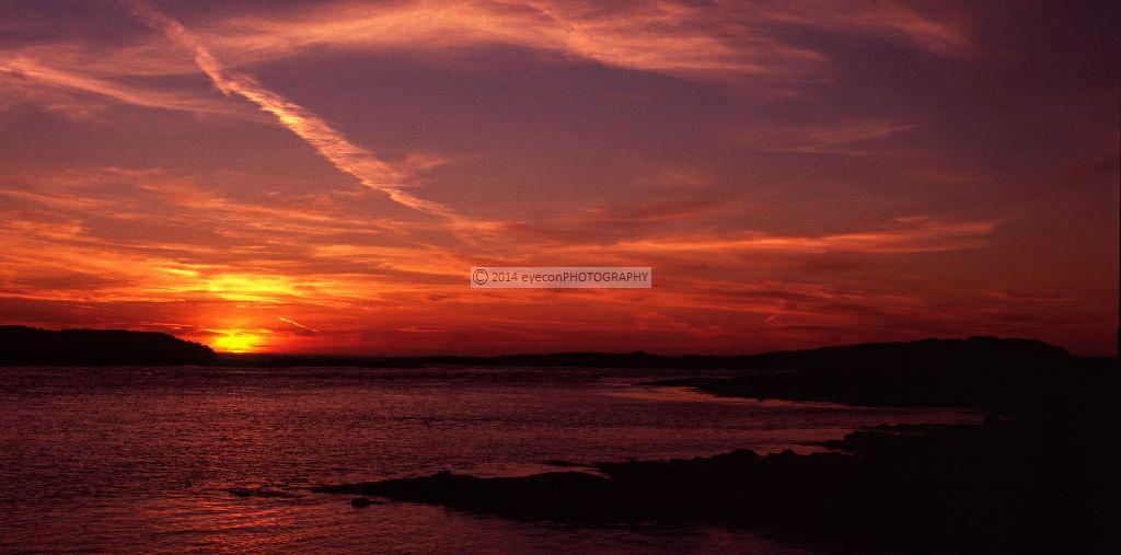 Sunset at Port Wemyss