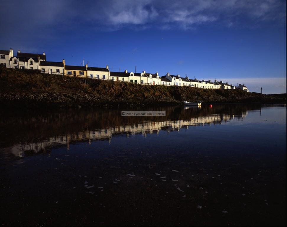 Portnahaven Bay Reflections