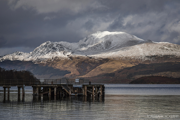 Ben Lomond from Luss .