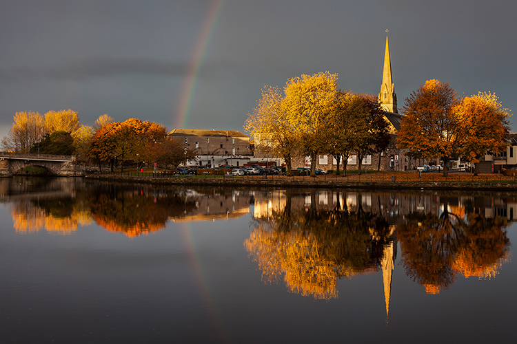 dumbarton autumn reflections