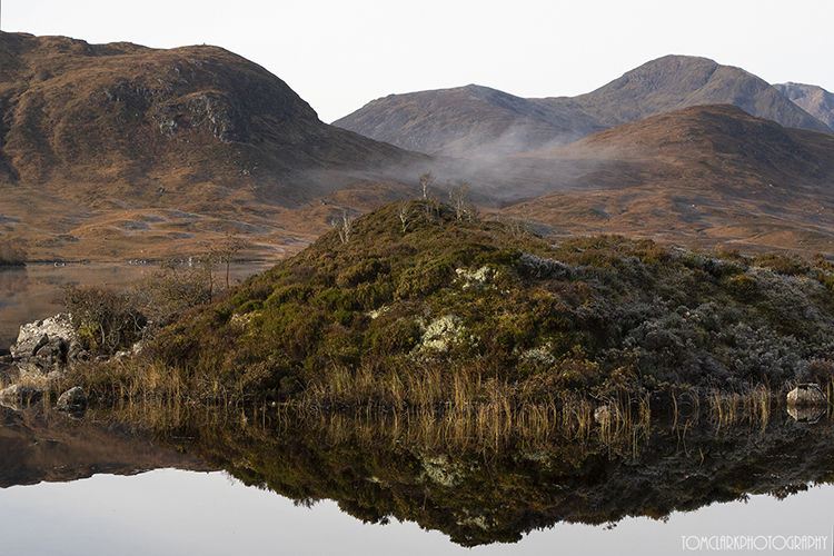 looking over lochan na h-achlaise.