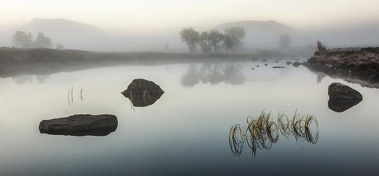 a misty rannoch
