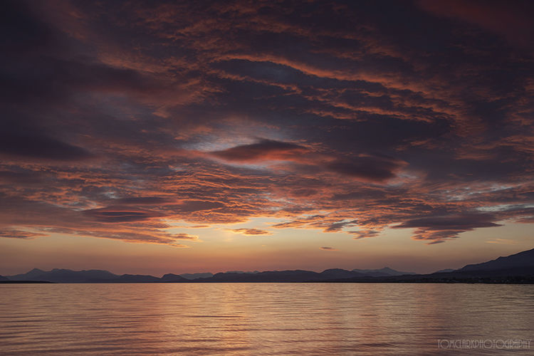 broadford bay sunrise.