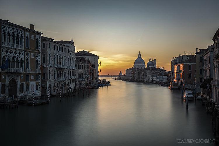 grand canal sunrise.