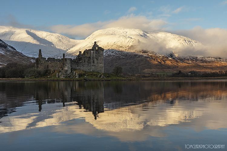 kilchurn castle at loch awe