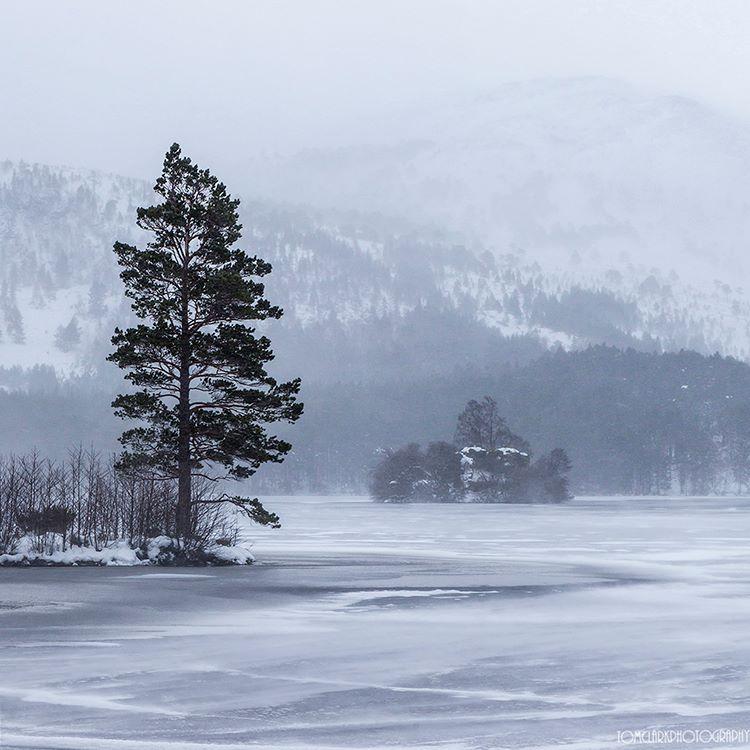 frozen loch an eilein