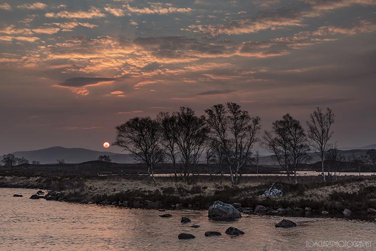loch ba sunrise.