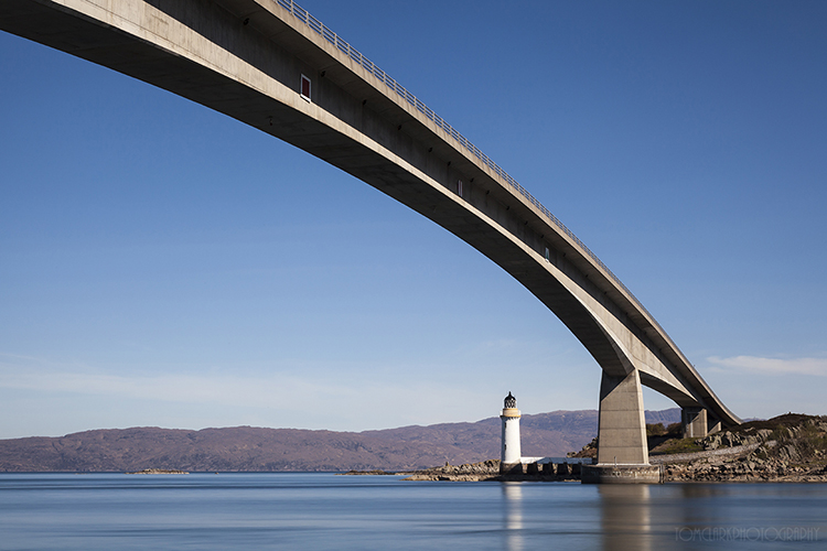 skye bridge and lighthouse.