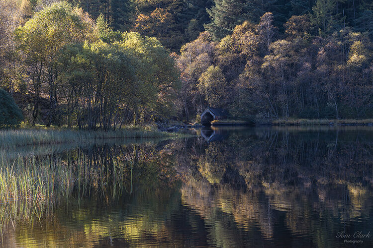 the boathouse at loch chon