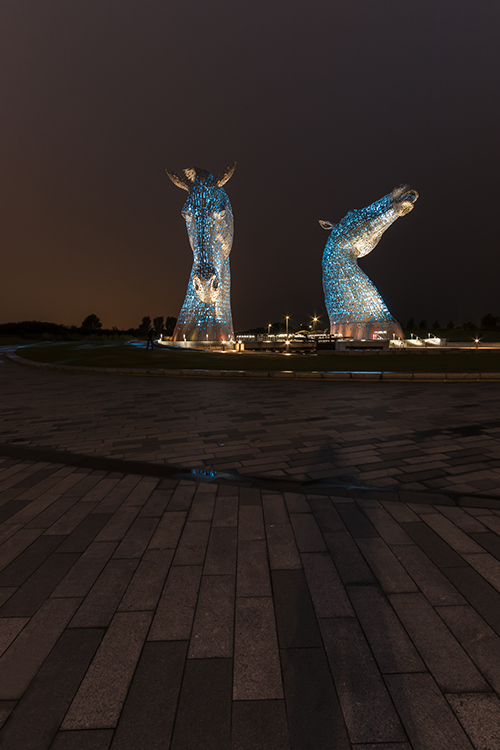 the kelpies.
