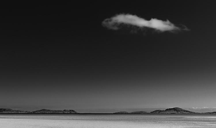 white cloud over barra
