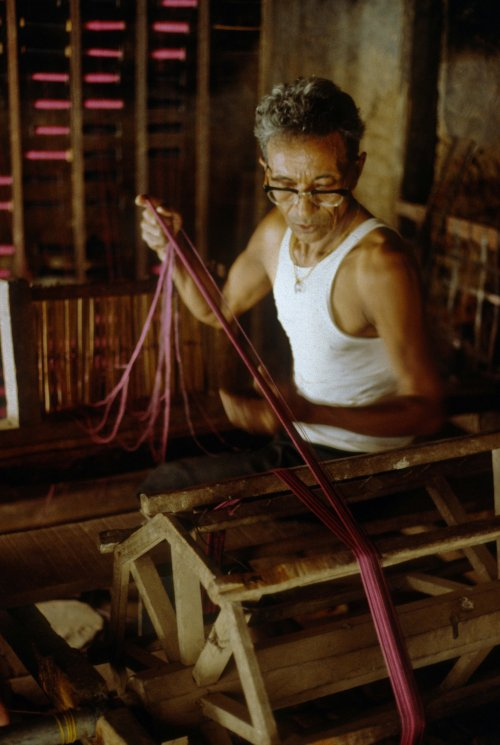 Weaving co-operative, Kathmandu Valley