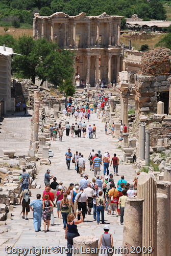 Ephesus Crowds