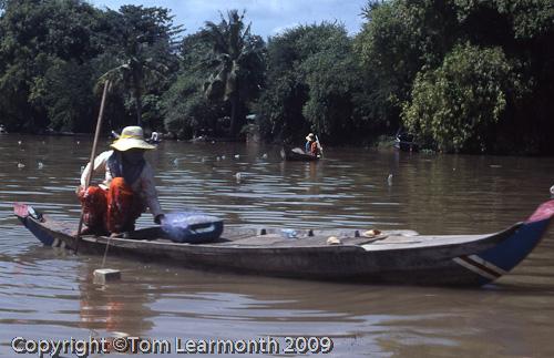 Fishing, Battambang, Cambodia