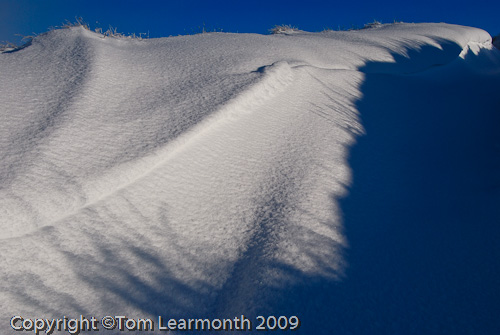 Snowdrift, North Wales