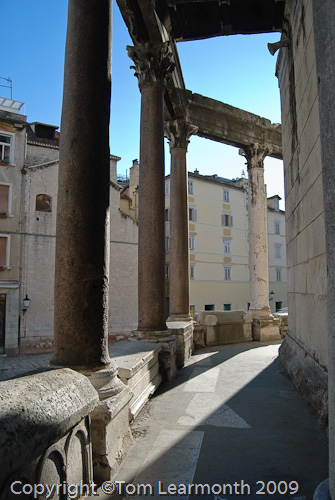 Split; Cathedral of St Domnius, built within the octagonal tomb of the Emperor Diocletian
