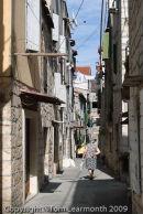Trogir: typical street