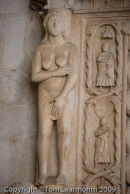 Eve, west portal of St Lawrence Cathedral, Trogir