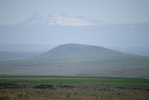 Armenian mountains from Ani