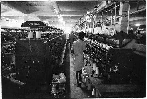 Jute mill near Dhaka