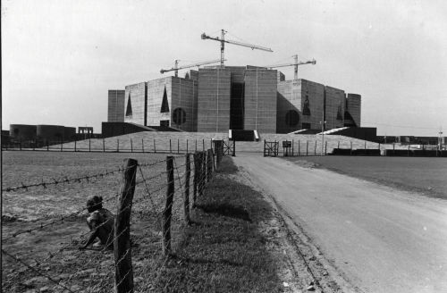 Parliament building under construction
