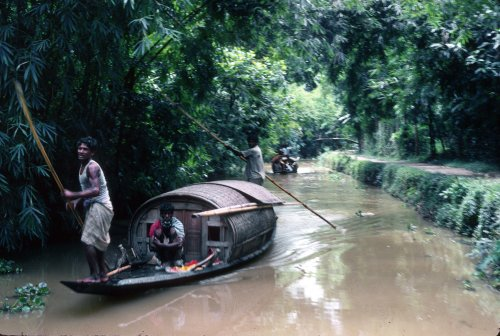 Country boat Sylhet district