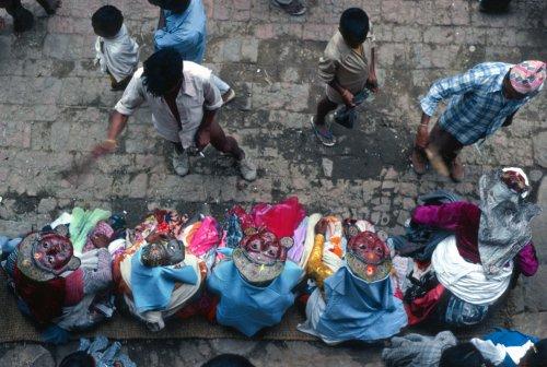 Kirtipur, Gai Jattra festival: gods take a break