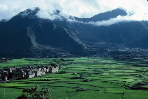 Newari village