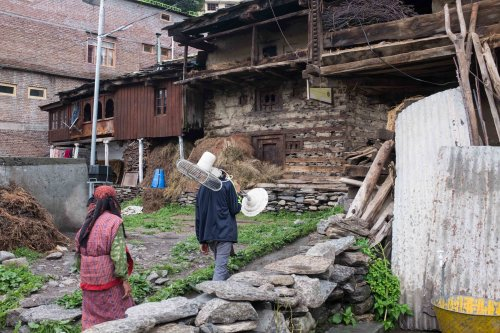 Manali old town