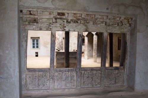 Old palace near Jespa