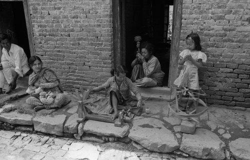Kirtipur house : bobbin winding
