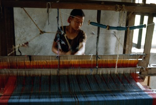 Weaving co-operative, Khatmandu Valley