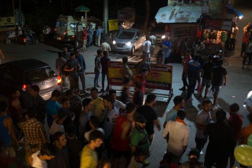 Dharamsala at night
