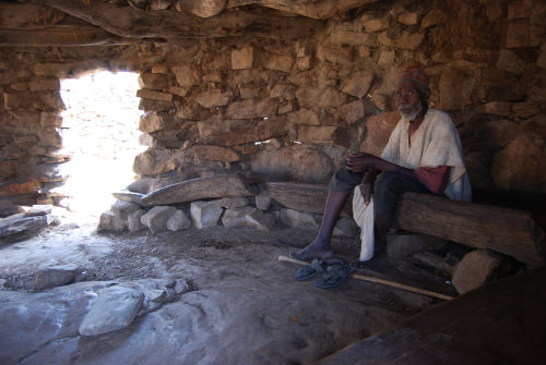 Meeting hut, Dogon village