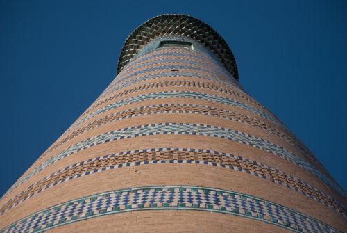 Khiva, minaret of Islam Khodja