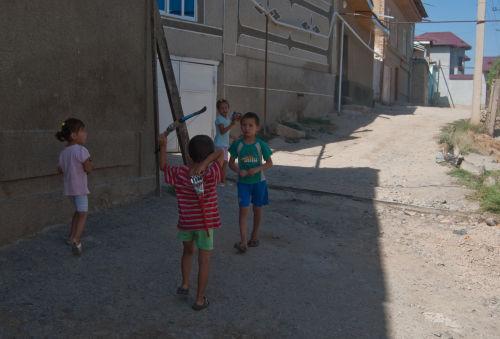 Samarkand back streets